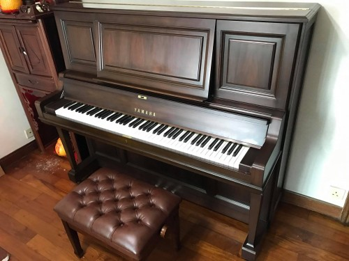 YAMAHA W201BW 頂級直立式鋼琴