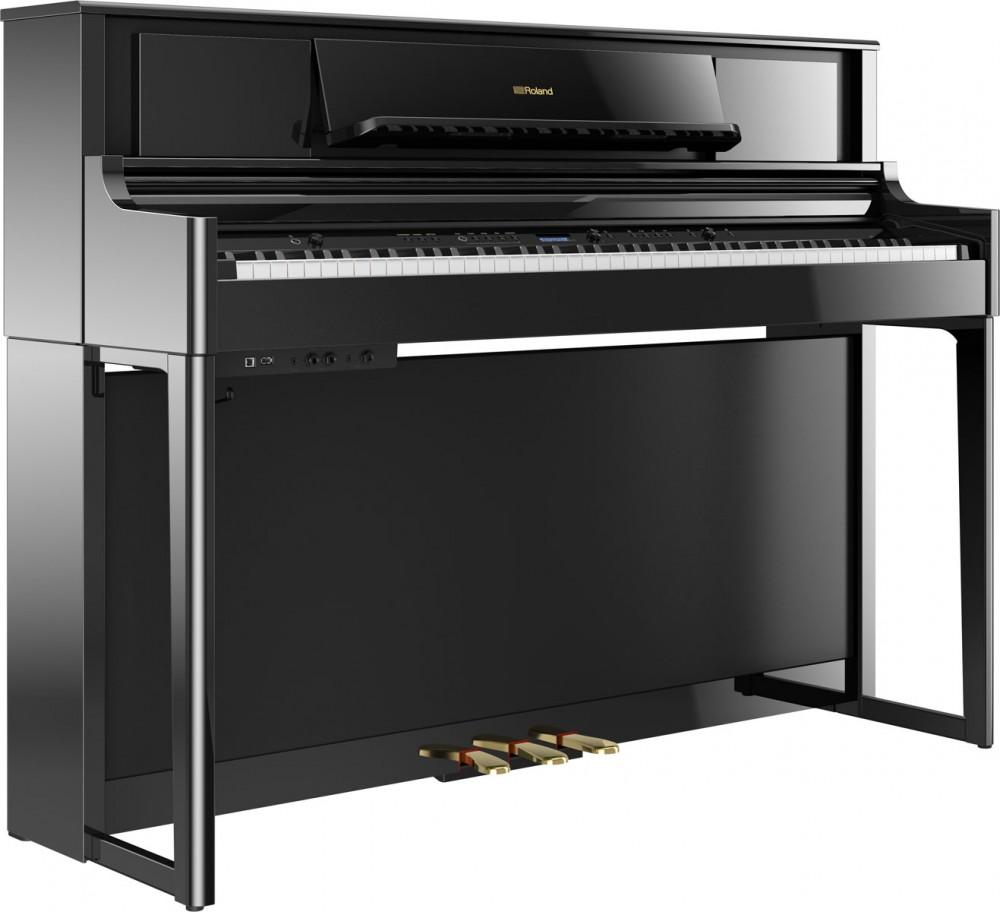 Roland LX705 亮黑色