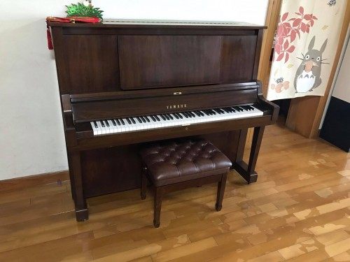 YAMAHA W102BW鋼琴