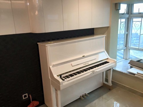 YAMAHA U3H鋼琴(白色)
